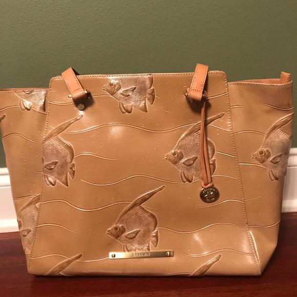 Brahmin Bags   Tan Leather Shoulder Bag Nwt   Poshmark dd8fb8a23c